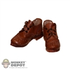 Boots: Newline Miniatures Lace Up Brown