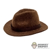 Hat: Newline Miniatures Brown Fedora