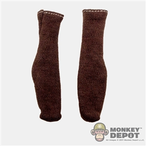 Socks: Newline Miniatures Brown Socks