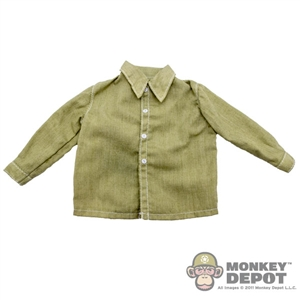 Shirt: Newline Miniatures Green Dress Shirt