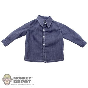 Shirt: Newline Miniatures Blue Dress Shirt