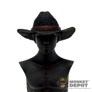 Hat: Newline Miniatures Western Tom Horn Hat - Black