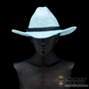 Hat: Newline Miniatures Western Tom Horn Hat - Silver/Grey