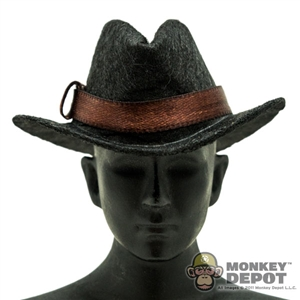 Hat: Newline Miniatures Civilian Homburg Brown Band
