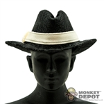 Hat: Newline Miniatures Civilian Homburg Cream Band