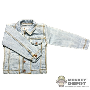 Jacket: Newline Miniatures Denim Jacket Faded (Light Blue)