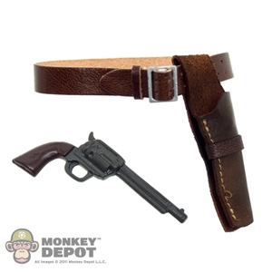 Holster: Newline Miniatures Gunfighter Holster Set (Brown)