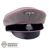 Hat Newline Miniatures German WWII SS Crusher Light Pink Piping