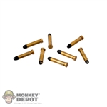 Ammo: Newline Miniatures Brass Rifle Rounds (Set of 8)