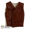 Vest: Newline Miniatures Brown Leather Vest