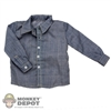 Shirt: Newline Miniatures Grey Dress Shirt