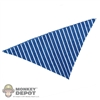 Scarf: Newline Miniatures Bandana (Blue Striped)