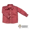 Shirt: Newline Miniatures Pinkish Red Dress Shirt