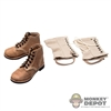 Boots Newline Miniatures US WWII US Army Roughouts leggins