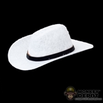Hat: Newline Miniatures White Cowboy Hat