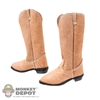 Boots: Newline Miniatures Roughout Cowboy Boots