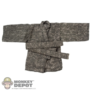 Uniform Set: Crazy Owner Black Master Ninja Set (Camouflage)