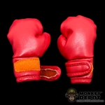 Gloves: Crazy Owner Red Boxing Gloves