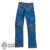 Pants: OneToys Lightly Blood Splattered Blue Jeans