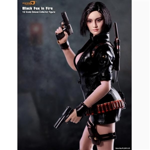 Boxed Figure: Phicen Black Fox In Fire (PL2013-23)