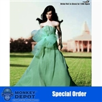 Boxed Figure: TBLeague Green Bridal Gown (PL-SHE-004)