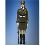 Boxed Figure: Phicen Female Honor Guard From China Army (PL2014-30)