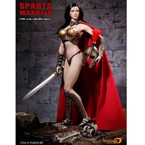 Boxed Figure: Phicen Sparta Warrior (PL2015-97)