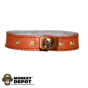 Belt: Phicen Ltd Brown w/ Skull Buckle Female