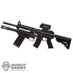 Rifle: Phicen Ltd Machine Gun w/Modular Shotgun & Sight