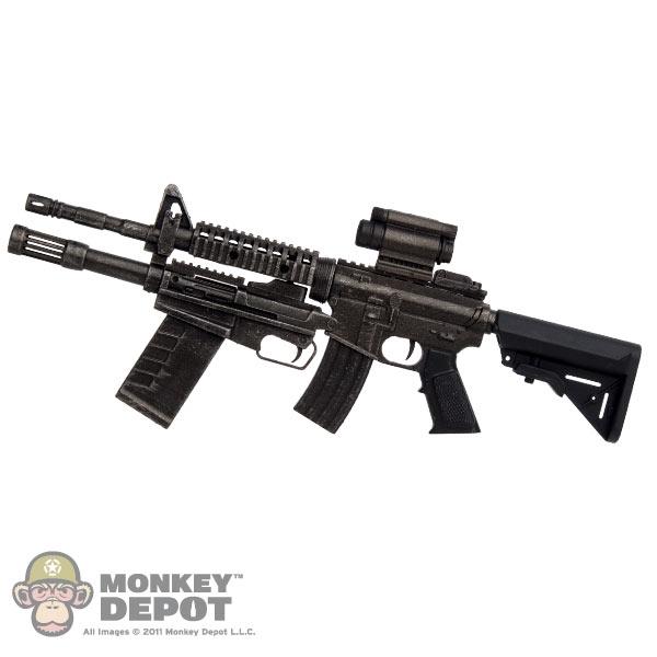 Gun T Shirts >> Monkey Depot - Rifle: TBLeague Ltd Machine Gun w/Modular Shotgun & Sight