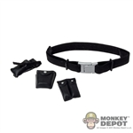 Belt: Phicen Female Black Belt w/Pouches