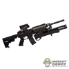 Rifle: Phicen Submachine Gun w/Modular Shotgun & Sight