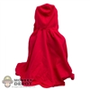Cape: Phicen Red Hooded Cape