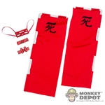 Flag: Phicen Red Flag Set w/Harness