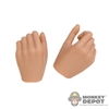 Hands: TBLeague Tan Female Relaxed Gripped