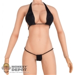 Bikini: Phicen Black Bathing Suit