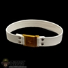 Belt: Phicen Female White Leather Belt