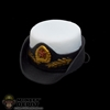 Hat: Phicen Female White Chinese Navy