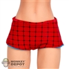 Short: TBLeague Red Pattern Shorts