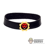 Belt: TBLeague Black Leatherlike Belt w/Tiger Gear Buckle