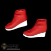 Shoes: Phicen Red Space Boots w/Feet
