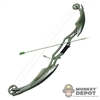 "Bow: TBLeague Green 8"" Plastic Bow"