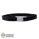 Belt: Phicen Black Leatherlike Belt