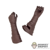 Hands: Phicen Molded Gloved Holding Grip