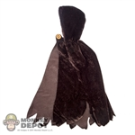 Coat: TBLeague Female Brown Hooded Cloak