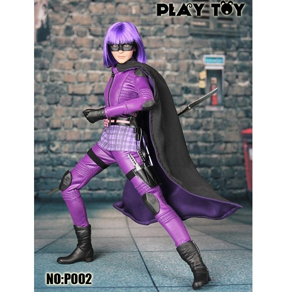FORTY42: Preorder now! Play Toy Purple Girl 1/6 Scale
