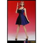 Clothing Set: Play Toy Fit & Flare Dress Set w/Head (PT-HB005)