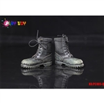 Boots: Play Toys Toys Black Combat Boots (PT-PC005B)