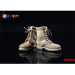 Boots: Play Toys Tan Combat Boots (PT-PC005C)