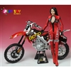 Boxed Figure: Play Toy Racing Girl In Red (PT-P009C)